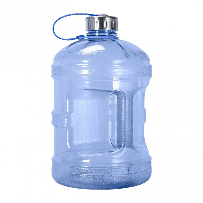 9c5a7f6b9d GEO 1 Gallon (128 oz) BPA Free Sports Bottle w/48mm Stainless Steel Cap